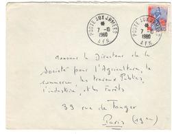 8898 - Pour La France - Marcophilie (Lettres)