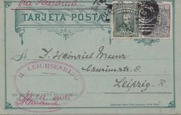 Bolivia/Bolivien: 1913 La Paz, Post Card To Leipzig - Bolivia