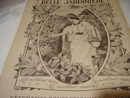 ANCIENNE PUBLICITE MAGASIN BELLE JARDINIERE 1919 - Publicidad