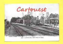 Cannes La Bocca  (Alpes-Martimes) - GARE Le Train Venant De GRASSE  ( REPRODUCTION ) - Cannes
