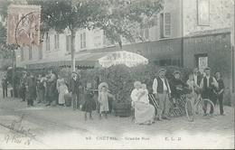 94 CPA CRETEIL Tabac Grande Rue - Creteil