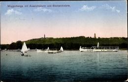 Cp Berlin Köpenick, Müggelberge, Aussichtsturm, Bismarckwarte, Salondampfer - Germania
