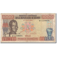 Billet, Guinea, 1000 Francs, 1960-03-01, KM:32a, TB - Guinea