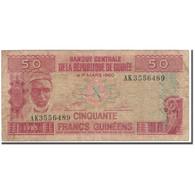 Billet, Guinea, 50 Francs, 1960-03-01, KM:29a, B+ - Guinea