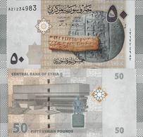 Syria 2009 - 50 Pounds - Pick 112 UNC - Syria