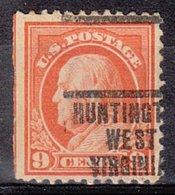 USA Precancel Vorausentwertung Preo, Locals West Virginia, Huntington 207, Perf. 11x11 - Vereinigte Staaten