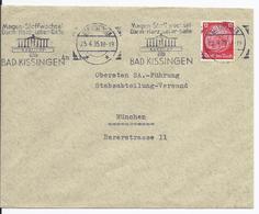 Dt- Reich (002874) Propagandabrief An Oberste SA Führung München, ABS SA Sturm 17/29 N.Metz Bad Kissingen - Deutschland