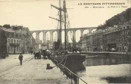 MORLAIX  Le Port Et Le Viaduc RV - Morlaix