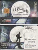 F931 TELECARTE CANALSAT GEM1A 13eme RUE PUCE GEM 98/11 - France