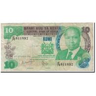 Billet, Kenya, 10 Shillings, 1986-09-14, KM:20e, TB - Kenya