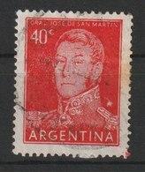 MiNr. 621 Argentinien / 1954/1959. Freimarken: General San Martín Und Landesansichten. - Argentinien