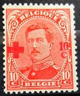 BELGIQUE              N° 153                   NEUF SANS GOMME - 1918 Croix-Rouge