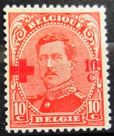 BELGIQUE              N° 153                   NEUF SANS GOMME - 1918 Red Cross
