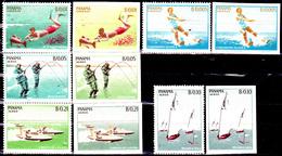 Panama 399 / 00 + Pa 308 / 10 Sports Aquatiques Dentelés Et Non Dentelés - Panama