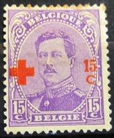 BELGIQUE              N° 154                   NEUF* - 1918 Croix-Rouge