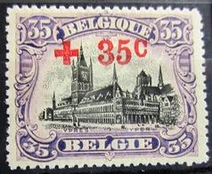 BELGIQUE              N° 157                   NEUF* - 1918 Croix-Rouge