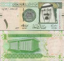 Saudi Arabia 2012 -1 Riyal - Pick 31 UNC - Arabie Saoudite