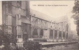 RONSE / RENAIX / LE PARC ET L EGLISE SAINT HERME - Renaix - Ronse