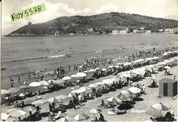 Lazio-latina-scauri Spiaggia Particolare Veduta Differenziata ( Da Altre D) Anni 50/60 - Altre Città