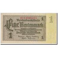 Billet, Allemagne, 1 Rentenmark, 1937-01-30, KM:173b, SPL - [ 3] 1918-1933 : República De Weimar