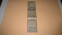 CIRQUE PINDER A POITIERS / CHATELLERAULT - PROGRAMME - ANNONCE PUBLICITAIRE DE 1957. ( PRESSE.) - Vieux Papiers