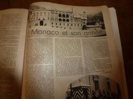 1945 Bulletin PLM : Monaco Et Son Armée; Sur La Route Ferrée Des Alpes; Arles; Toulon; Etc - Railway