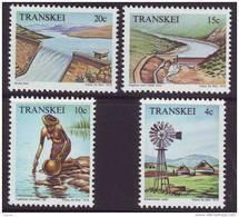 D90819 Transkei South Africa 1979 DAMS WATER IRRIGATION WINDMILL MNH Set - Afrique Du Sud Afrika RSA - Transkei