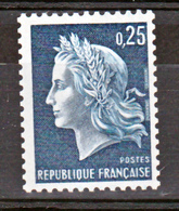France 1535a Marianne De Cheffer  Roulette N°rouge  Neuf ** TB MNH  Sin Charnela Cote 75 - France