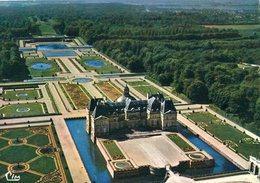 77 - MAINCY - Château De VAUX-le-VICOMTE - Vu Aérienne. Le Château - Vaux Le Vicomte