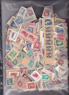 UN  LOT DE 1500 TIMBRES OBLITéRéS / FRANCE/ PETITS FORMATS / SUR FRAGMENTS / MULTIPLES = OUI / A DéCOLLER - Stamps