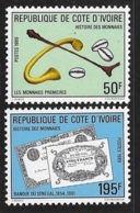 Ivory Coast 1989 History Of Money MNH - Ivory Coast (1960-...)