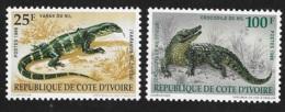 Ivory Coast 1989 Endangered Species Animals MNH - Ivory Coast (1960-...)