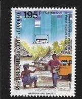 Ivory Coast 1990 World Post Day MNH - Ivory Coast (1960-...)