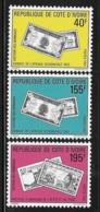 Ivory Coast 1991 History Of Money MNH - Ivory Coast (1960-...)