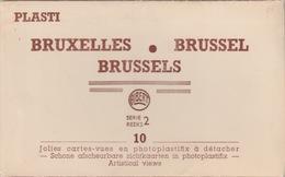 18/10/342   - DAPLIANT. 10  CARTES  DE. BRUXELLES - Postcards