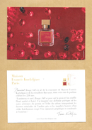 Carte Promo Perfume Card MAISON FRANCIS KURKDJIAN PARIS * 10 X 15 Cm * R/V - Modern (from 1961)