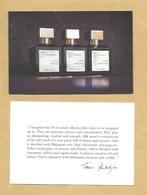 Carte Promo Perfume Card MAISON FRANCIS KURKDJIAN PARIS * 10 X 15 Cm * R/V (en Anglais) - Modernes (à Partir De 1961)
