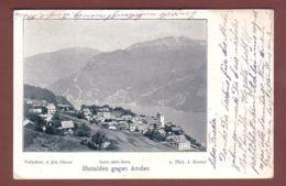 Glarus - OBSTALDEN Gegen AMDEN - 1900 // Eckbug // - GL Glarus