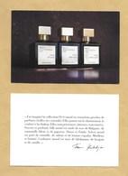 Carte Promo Perfume Card MAISON FRANCIS KURKDJIAN PARIS * 10 X 15 Cm * R/V (en Français) - Modernes (à Partir De 1961)