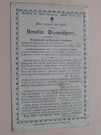 DP Rosalia DEJONCKHEERE ( Lauwers ) Coolscamp 15 Feb 1836 - Swevezeele 8 Juli 1889 ( Zie Foto's Voor Detail ) ! - Obituary Notices