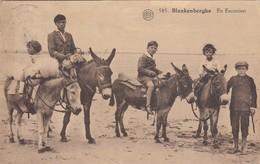 BLANKENBERGE /  OP STAP  / EZELTJES RIJDEN  1927 - Blankenberge