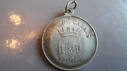 Médaille Certificat D'études Primaires - Caisse Des écoles CALAIS 1913 - France