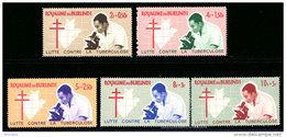 Burundi 0118/22** -  Tuberculose  MNH - Burundi