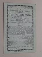 DP Charles VERSCHELDE ( Julie & Colette Flauw ) OEDELEM 14 Juil 1814 - BRUGES 6 Fev 1892 (zie Foto's Voor Detail) - Obituary Notices