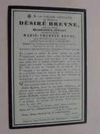 DP Désiré BREYNE ( Debandt / De Vos ) Ypres 4 Avril 1824 - 5 Juil 1897 (zie Foto's Voor Detail) - Obituary Notices