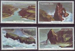 D90819 Transkei South Africa 1980 GEOLOGY SEA SCAPES MNH Set - Afrique Du Sud Afrika RSA Sudafrika - Transkei
