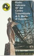 SCHEDA TELEFONICA NUOVA VATICANO SCV42 RADIO VATICANA - Vaticano