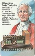 SCHEDA TELEFONICA NUOVA VATICANO SCV46 MILIONESIMA CARTA TELEFONICA - Vaticano