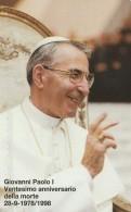 SCHEDA TELEFONICA NUOVA VATICANO SCV50 GIOVANNI PAOLO I VENTESIMO ANNIV MORTE - Vaticano