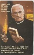 SCHEDA TELEFONICA NUOVA VATICANO SCV51 DON ALBERIONE - Vaticano